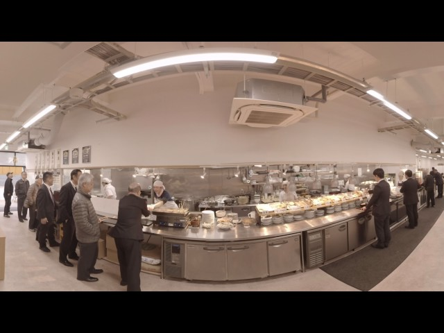 VR動画制作(4K、8K対応) サンプル うどん 一福 まちなか店様
